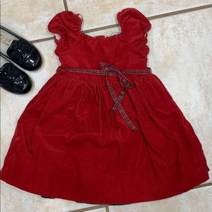 Ralph Lauren corduroy dress